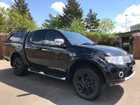 2013 MITSUBISHI L200 2.5 DI-D 4X4 WARRIOR LB DCB 1d AUTOMATIC 175 BHP WITH NO VAT. NO VAT £13000.00