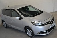 2014 RENAULT GRAND SCENIC 1.5 DYNAMIQUE TOMTOM ENERGY DCI S/S 5d 110 BHP £9400.00