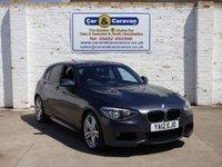2012 BMW 1 SERIES 2.0 118D M SPORT 5d 141 BHP £8988.00