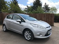 2009 FORD FIESTA 1.25 ZETEC 5d WITH AIR CON AND ALLOYS £4000.00