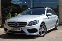 2016 MERCEDES-BENZ C CLASS 2.1 C250 D AMG LINE PREMIUM PLUS 5d AUTO 204 BHP £25666.00