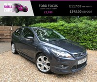 USED 2010 60 FORD FOCUS 2.0 ZETEC S TDCI 3d 135 BHP 1 OWNER FROM NEW FULL SERVICE 18 INCH ALLOYS ZETEC S BODYKIT RARE CAR