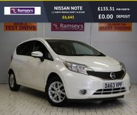 USED 2013 63 NISSAN NOTE 1.2 ACENTA PREMIUM SAFETY 5d 80 BHP