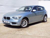 2014 BMW 1 SERIES 2.0 116D SE 5d 114 BHP £7880.00