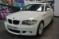 2011 BMW 1 SERIES 2.0 116D M SPORT 3d 114 BHP £7494.00