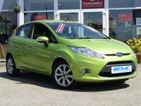 2011 FORD FIESTA 1.4 ZETEC 16V 5d 96 BHP £4595.00