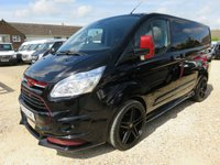 2016 FORD TRANSIT CUSTOM 2.2 TDCi 290 LIMITED RS KIT 155 BHP WITH TAILGATE 23332 MILES ONLY £16995.00