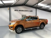 USED 2017 17 NISSAN NAVARA 2.3 DCI TEKNA 4X4 SHR DCB 1d 190 BHP NO VAT, SATNAV, HEATED LEATHER, REVERSE CAMERA
