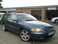 USED 2006 06 VOLVO V70 2.4 SE 5d AUTO 170 BHP 2 OWNER+GREAT HISTORY+LEATHER