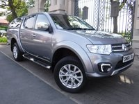 USED 2015 64 MITSUBISHI L200 2.5 DI-D 4X4 BARBARIAN LB DCB 1d 175 BHP *** FINANCE & PART EXCHANGE WELCOME *** FULL LEATHER SAT/NAV REVERSE CAMERA BLUETOOTH PHONE PRIVACY GLASS AIR/CON CRUISE CONTROL