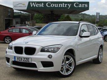2011 BMW X1 2.0 SDRIVE18D M SPORT 5d 141 BHP £11000.00