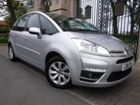 USED 2011 61 CITROEN C4 PICASSO 1.6 VTR PLUS HDI EGS 5d AUTO 110 BHP *** FIANCE & PART EXCHANGE WELCOME *** 1 OWNER BLUETOOTH PHONE AIR/CON CRUISE CONTROL PARKING SENSORS