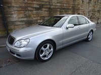USED 2005 55 MERCEDES-BENZ S CLASS 2.8 S280 SE 4d 202 BHP