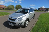 USED 2012 62 VAUXHALL ANTARA 2.2 EXCLUSIV CDTI Low Mileage,Half Leather,Cruise Control Low Mileage,Full Service History,Spotless Condition