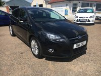 USED 2011 11 FORD FOCUS 1.6 TITANIUM TDCI 115 5d 114 BHP PARKING SENSORS / PRIVACY GLASS / VOICE COMM / USB/ BLUETOOTH