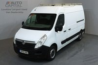 USED 2011 61 VAUXHALL MOVANO 2.3 F3500 CDTI 99 BHP L2 H2 MWB MEDIUM ROOF ONE OWNER FROM NEW, MOT UNTIL 3/10/2018