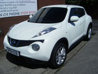 USED 2011 61 NISSAN JUKE 1.6 ACENTA PREMIUM 5d 117 BHP **ZERO DEPOSIT FINANCE AVAILABLE** PART EXCHANGE WELCOME