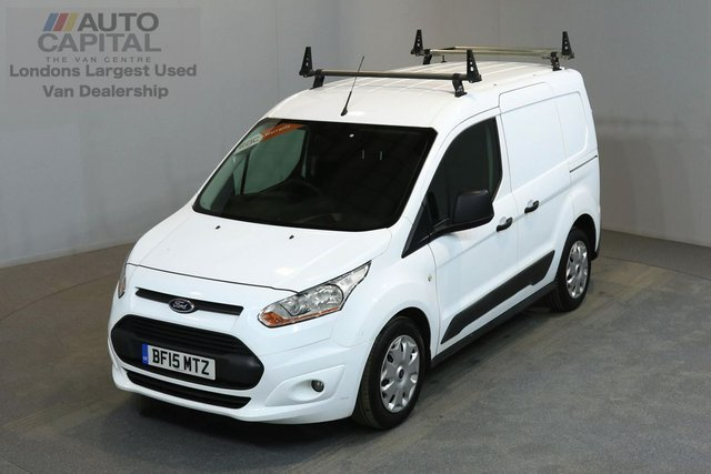 2015 15 FORD TRANSIT CONNECT 1.6 200 TREND 94 BHP L1 H1 SWB LOW ROOF ONE OWNER FROM NEW, MOT UNTIL 28/02/2019
