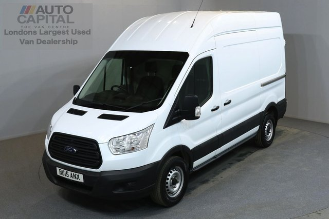 2015 15 FORD TRANSIT 2.2 33 124 BHP L2 H3 MWB HIGH ROOF A/C ONE OWNER FROM NEW, FULL SERVICE HISTORY