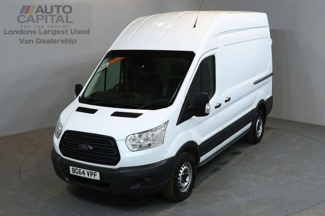 2015 64 FORD TRANSIT 2.2 330 124 BHP L2 H3 MWB HIGH ROOF A/C ONE OWNER FROM NEW, FULL SERVICE HISTORY