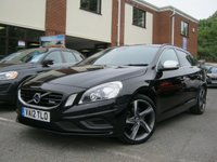 USED 2012 12 VOLVO V60 1.6 D2 R-DESIGN LUX 5d 113 BHP