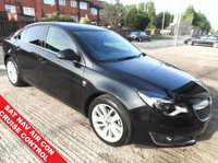 USED 2016 16 VAUXHALL INSIGNIA 1.6 SRI NAV CDTI 5d AUTO 135 BHP WITH FSH  1 OWNER FROM NEW SAT NAV AIR CON CRUISE CONTROL