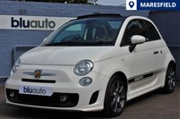 USED 2012 62 ABARTH 500 1.4 C 3d 135 BHP Parking Sensors, Electric Convertible Roof, I-Pod...