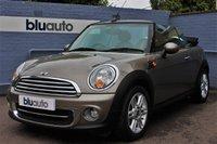 2011 MINI CONVERTIBLE 1.6 COOPER 2d 122 BHP £8230.00