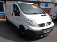 USED 2011 11 RENAULT TRAFIC 2.0 SL27 DCI S/R 1d 115 BHP