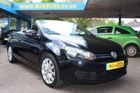 USED 2012 12 VOLKSWAGEN GOLF CONVERTIBLE 1.6 SE TDI BLUEMOTION TECHNOLOGY 2dr 104 BHP 1 OWNER | FULL SERVICE HISTORY  | DRIVE AWAY SAME DAY