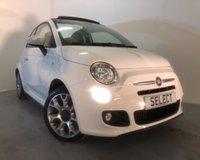 2014 FIAT 500 1.2 C S 3d 69 BHP £7499.00