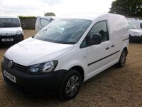 USED 2014 14 VOLKSWAGEN CADDY 1.6 C20 PLUS TDI STARTLINE 1d 101 BHP 2014 CADDY C20+ 102 ONE OWNER FROM NEW