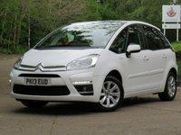 2013 CITROEN C4 PICASSO 1.6 EDITION E-HDI EGS 5d AUTO 110 BHP £6911.00