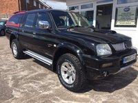 USED 2005 55 MITSUBISHI L200 2.5 4WD TROJAN LWB DCB CREWCAB NO VAT....!!!!