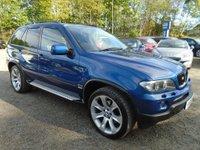 2006 BMW X5 3.0 d BluePerformance Le Mans Blue Sport 5dr £8495.00