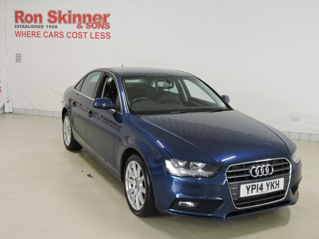 View our 2014 14 AUDI A4 1.8 TFSI SE TECHNIK 4d 118 BHP