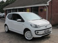 2013 VOLKSWAGEN UP 1.0 UP WHITE 3dr (SAT NAV+HEATED SEATS) £5990.00
