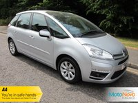 USED 2011 61 CITROEN C4 PICASSO 1.6 VTR PLUS HDI EGS 5d AUTO 110 BHP Great Value Automatic Citroen C4 Picasso with Air Conditioning, Cruise Control, Alloy Wheels and Service History.