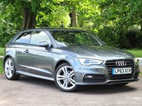 USED 2013 63 AUDI A3 1.4 TFSI S LINE 3d 139 BHP £225 PCM With £1299 Deposit