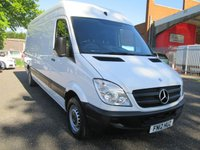 2012 MERCEDES-BENZ SPRINTER 313 CDi LWB High roof *NO VAT* £SOLD