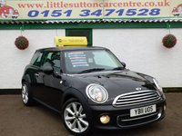 USED 2011 11 MINI HATCH COOPER 1.6 COOPER D 3d 112 BHP FULL MAIN DEALER HISTORY, DIESEL, FREE ROAD TAX £3500 OF EXTRAS