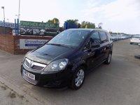 2012 VAUXHALL ZAFIRA 1.6 DESIGN 5d 113 BHP £5995.00