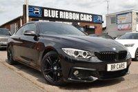 USED 2015 15 BMW 4 SERIES 2.0 420D M SPORT 2d AUTO 188 BHP big spec, stunning looks