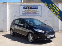 USED 2014 14 FORD FIESTA 1.0 ZETEC 5d 99 BHP Full Ford History AC Bluetooth 0% Deposit Finance Available