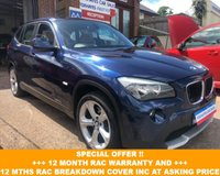 2011 BMW X1 2.0 SDRIVE18D SE 5d 141 BHP £8900.00