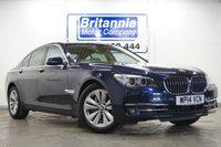 2014 BMW 7 SERIES 3.0 730D DIESEL SE AUTOMATIC 255 BHP £19990.00