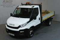 USED 2015 64 IVECO DAILY 2.3 35C 126 BHP L2 MWB TIPPER  ONE OWNER FROM NEW, SERVICE HISTORY