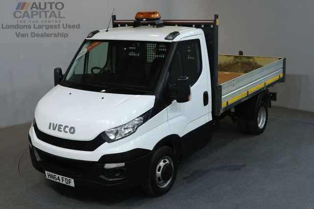 2015 64 IVECO DAILY 2.3 35C 126 BHP L2 MWB TIPPER  ONE OWNER FROM NEW, SERVICE HISTORY