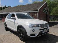 2016 BMW X3 20D XDRIVE XLINE 5dr AUTO  £25990.00