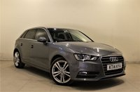 USED 2014 14 AUDI A3 1.6 TDI SPORT 5d AUTO 104 BHP + 2 PREV OWNER + AIR CON + AUX + SERVICE HISTORY